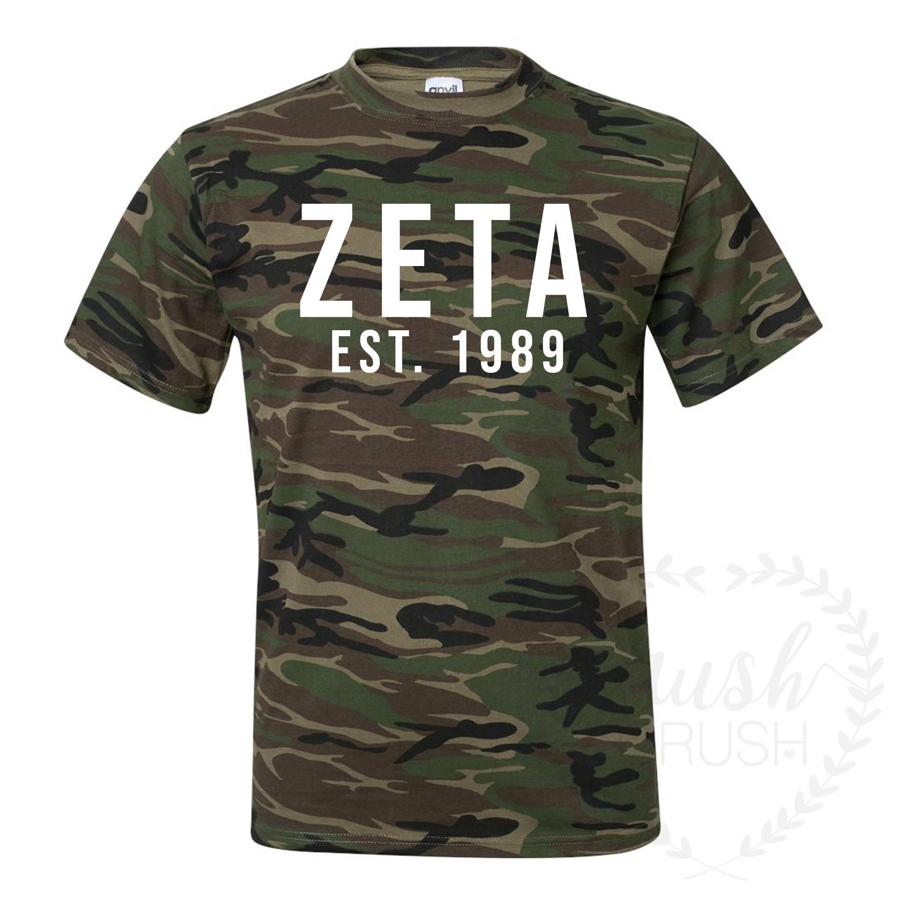 Zeta Camo Shirt