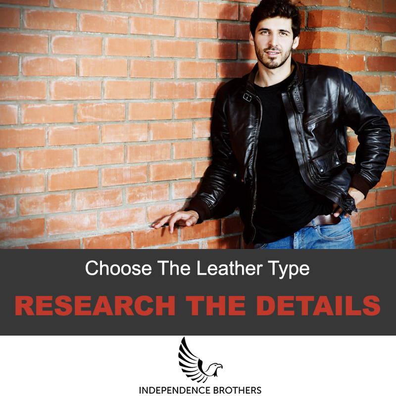 Choose the leather type