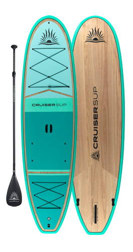 Stand Up HYBRID Stand or Sit Paddle Board PURPLE with FREE PADDLE