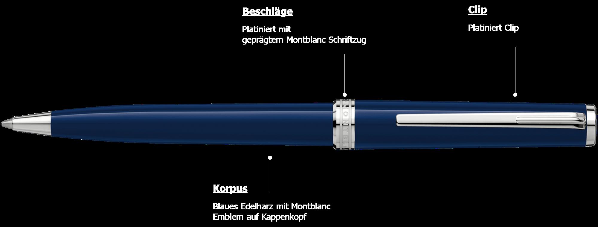Montblanc PIX Blue