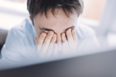 Computer Screens Can Be a Pain in the Eyes
