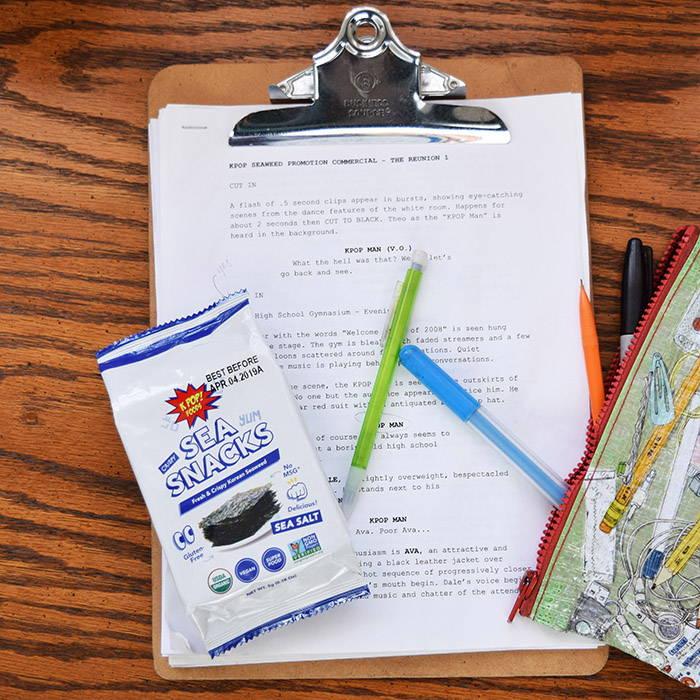 KPOP Sea Snacks on Desk