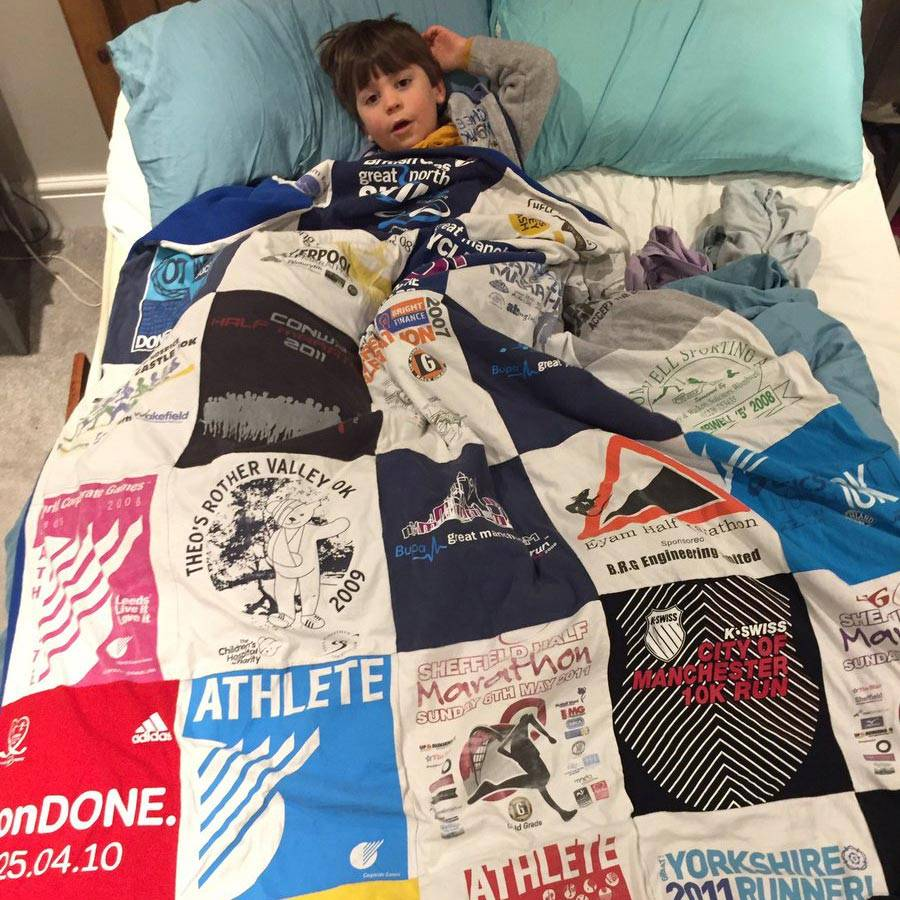 Too Many T-Shirts | Custom T-Shirt Blanket | T-Shirt Quilt | Memory Blanket