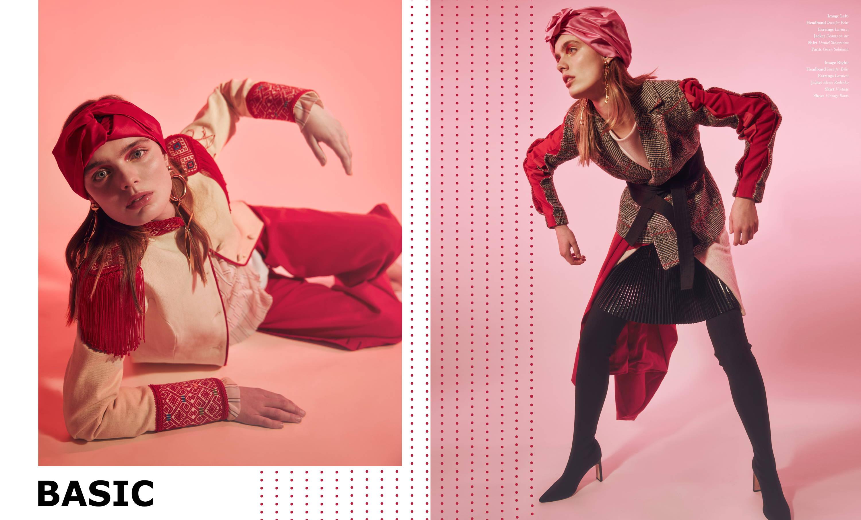 Flying Solo Independent Designers Basic Magazine Photoshoot Editorial