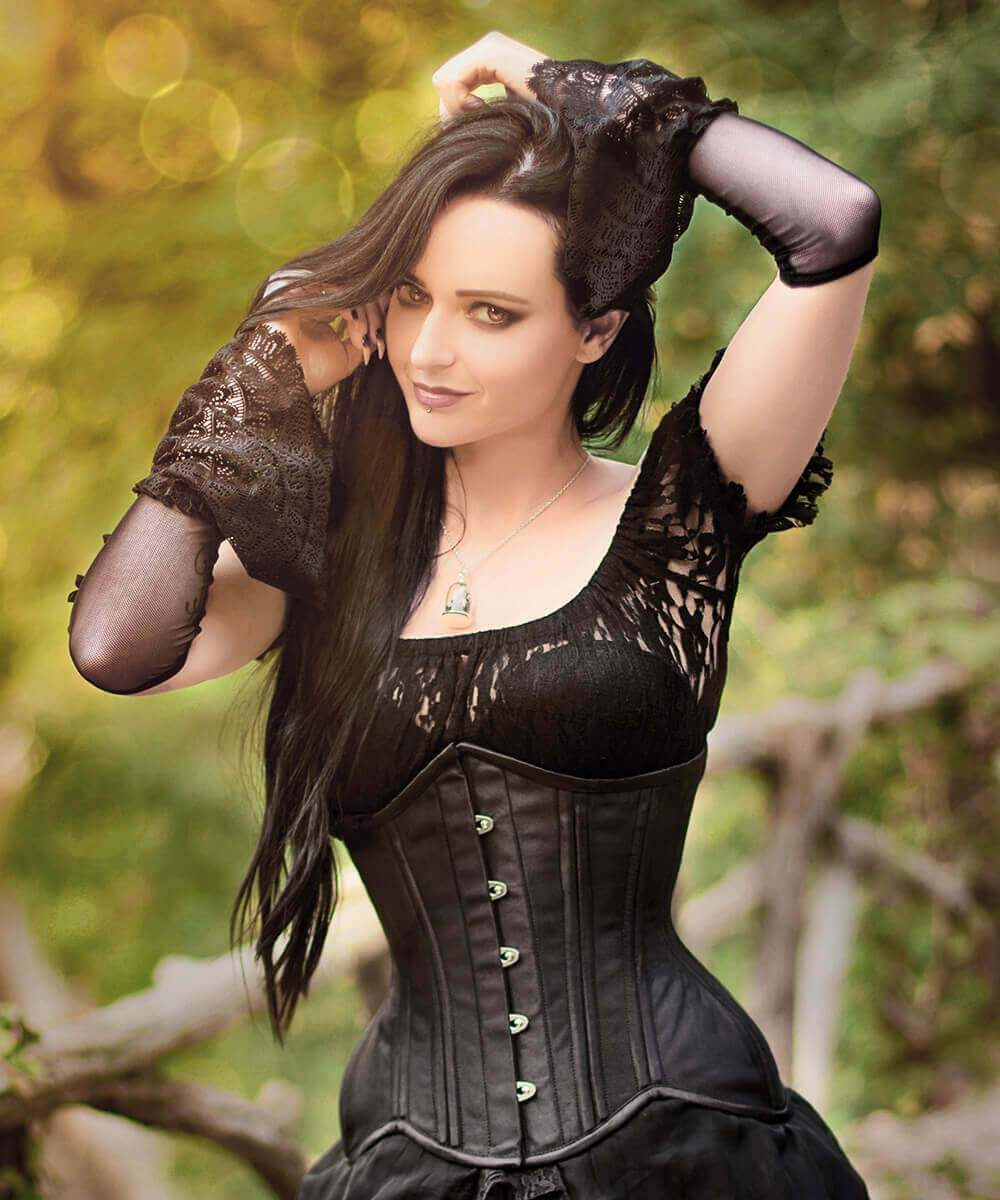 Waist Training Corset in Satin
