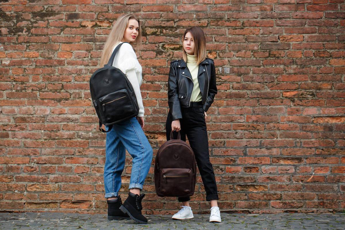 handmade leather backpacks for sale