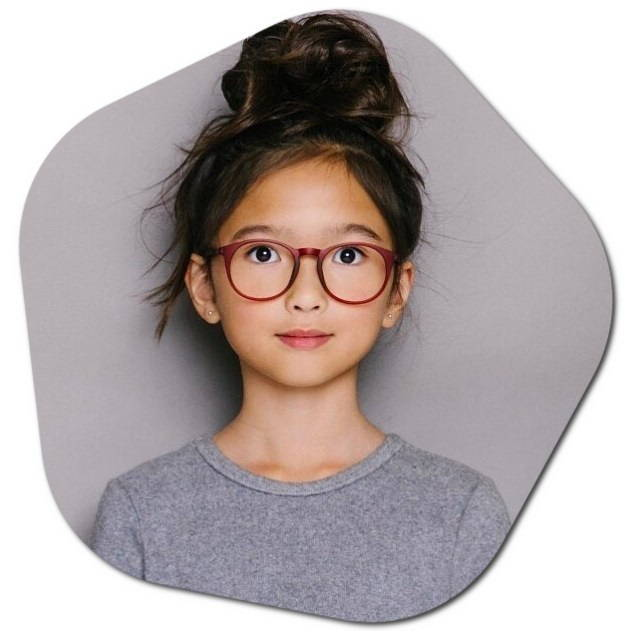 Girls Glasses for Ages 4-12