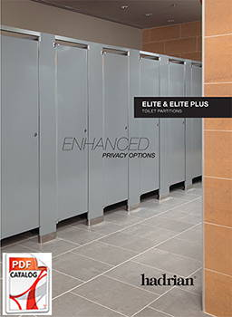 Hadrian Stainless Steel Toilet Partition Enhanced Privacy Options Catalog