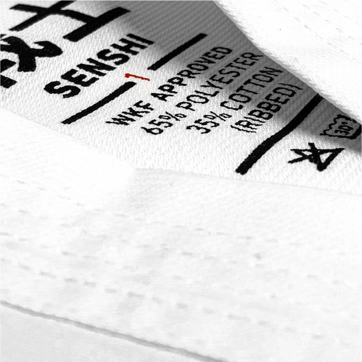 WKF Approved Karate Gi Student Senshi Label