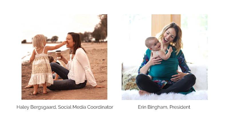 Haley Bergsgaard and Erin Bingham