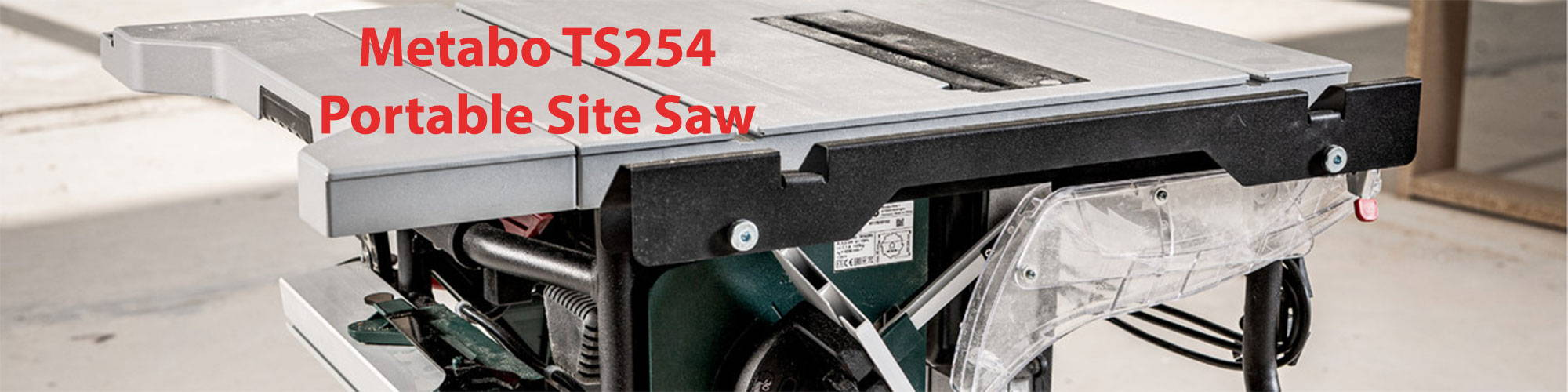 metabo ts254 review