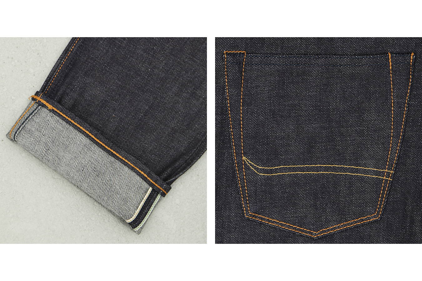 14 oz. Japanese selvedge denim from Collect Mills for men (JP), exclusively developed for BENZAK (special #1)