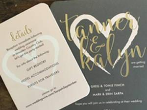 Foil Stamped Cards