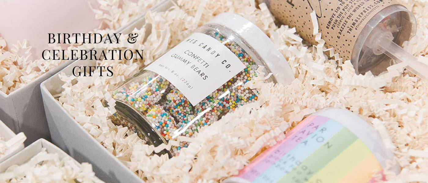 BIRTHDAY AND CELEBRATION GIFTS BOX+WOOD GIFT COMPANY
