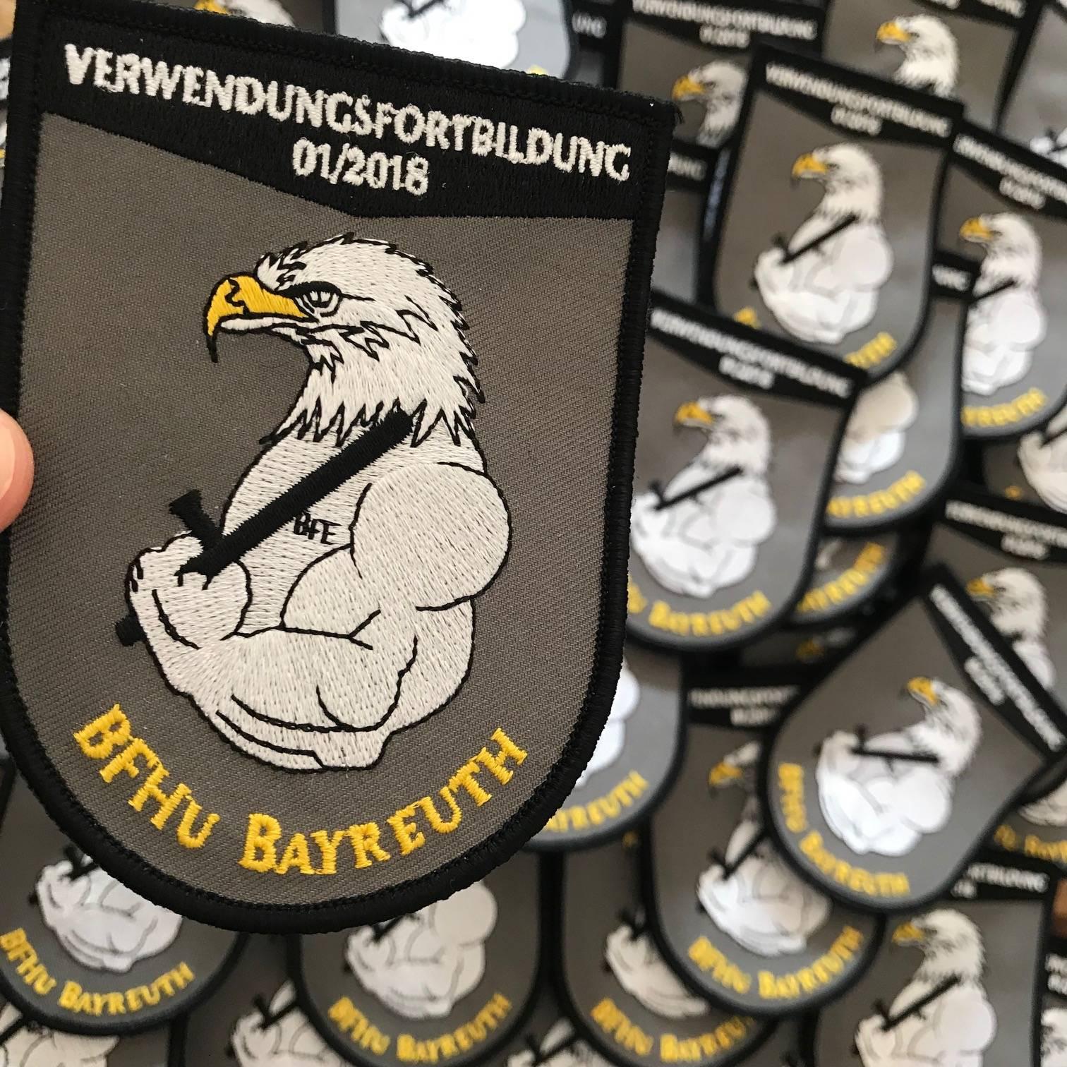 Patch erstellen BFHU Bayreuth