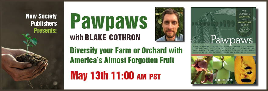Pawpaws event on May 13th, 11am PST
