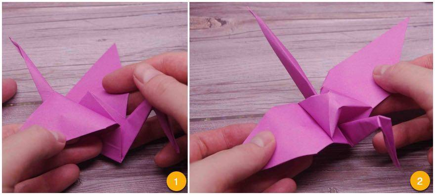How To Make An Origami Crane Easy Instructions Step By Step