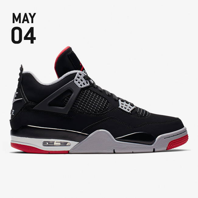 daa3217f20b1 Nike Air Jordan 4 Retro Shoes - Black Fire Red Cement Grey Summit White -  308497-060