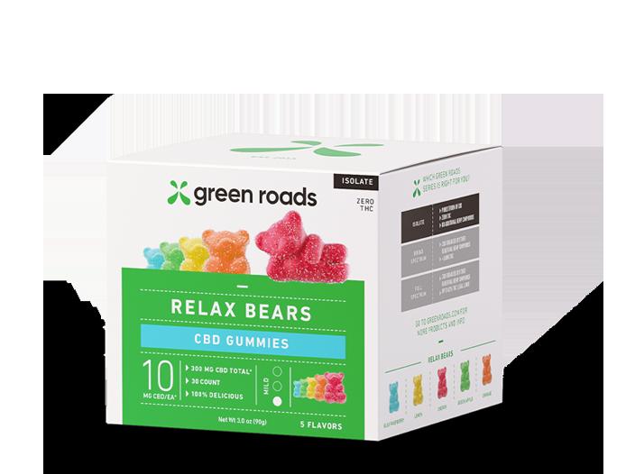 RELAX BEARS CBD GUMMIES