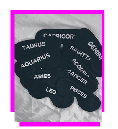 Zodiac Sleep Masks