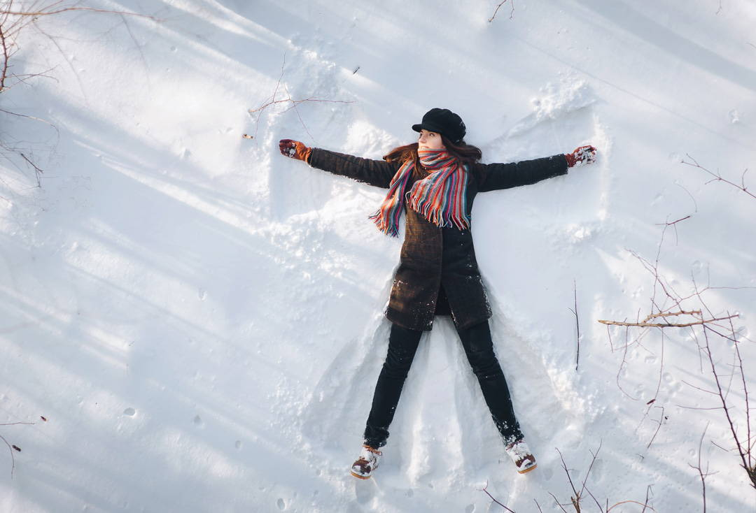 STAY HEALTHY IN WINTER WITH THESE SIMPLE TIPS - go outside