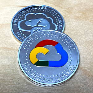 Custom-made personalized coin