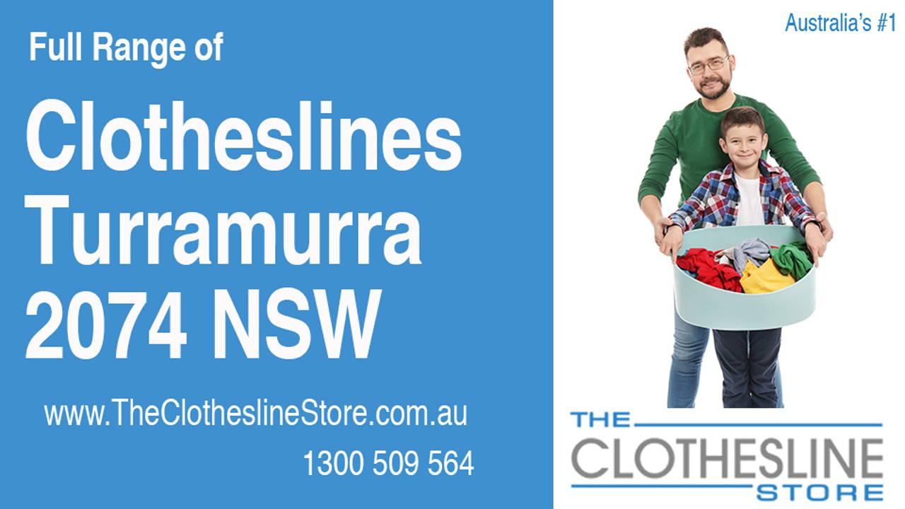 Clotheslines Turramurra 2074 NSW