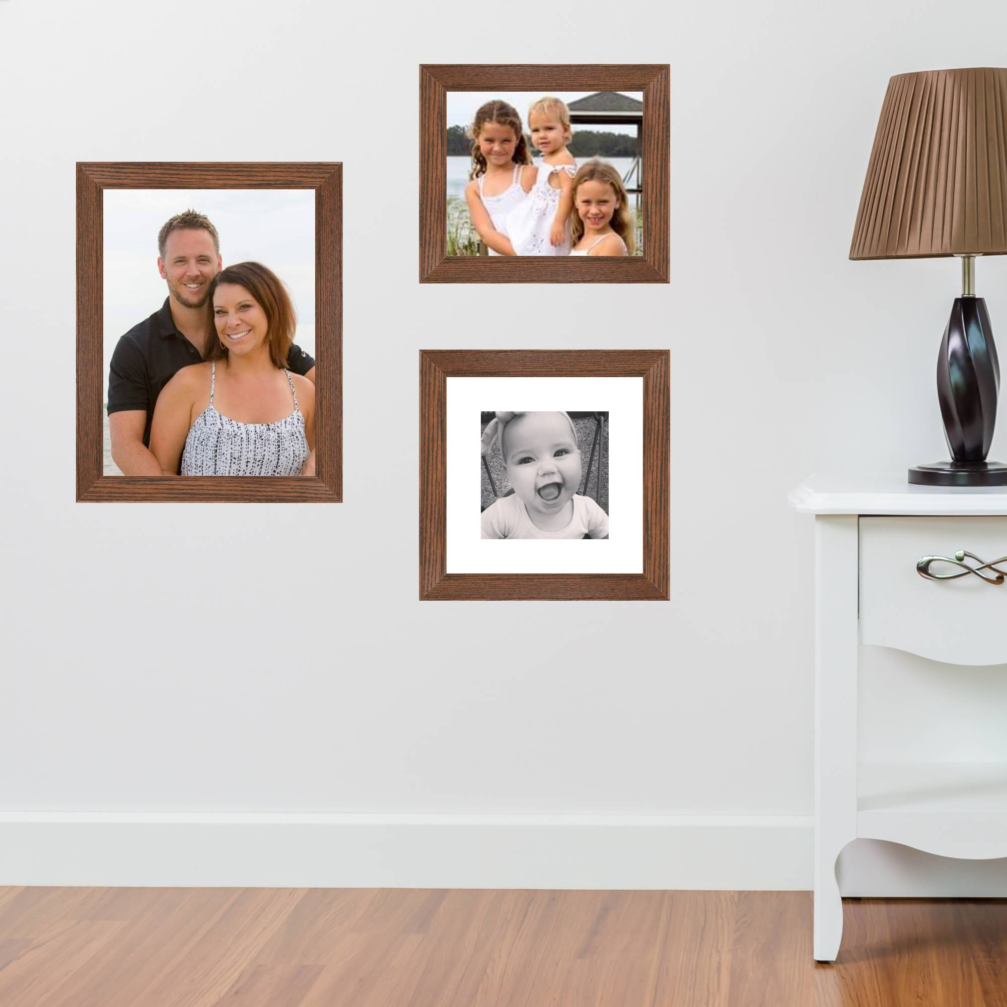 All sizes of picture frames
