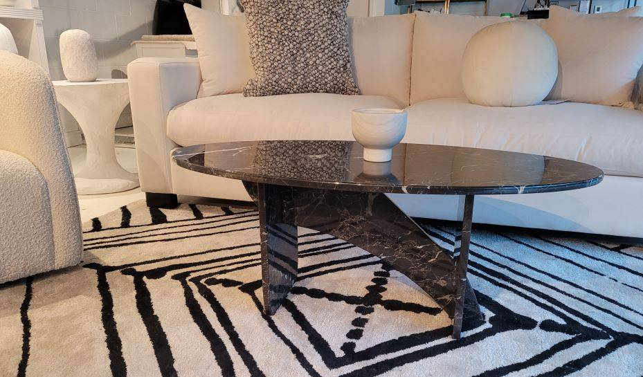 Latelier Home is the official and exclusive Vancouver showroom featuring the Aquila Artisan Marble Tables
