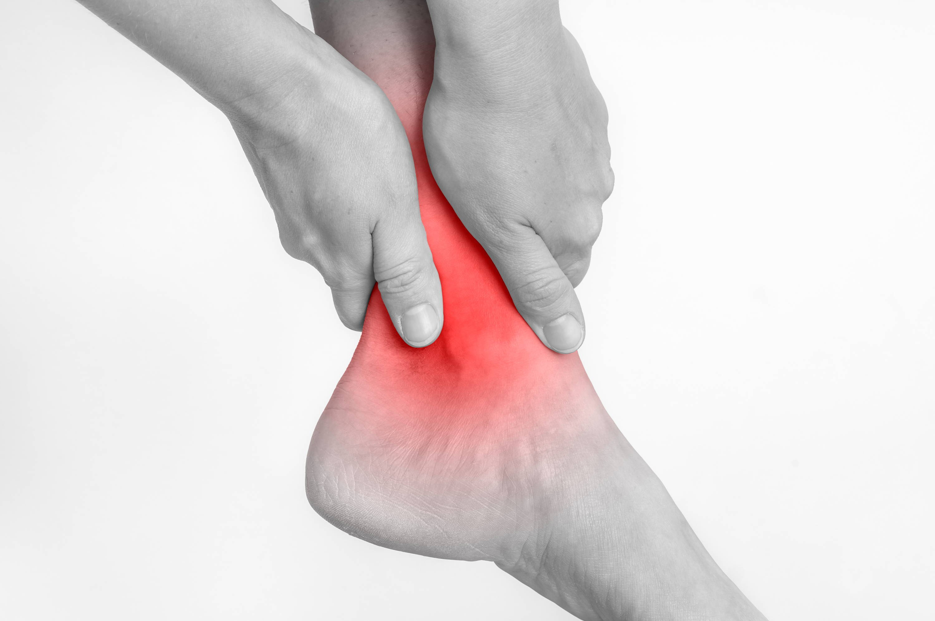 Causes of a sprained ankle