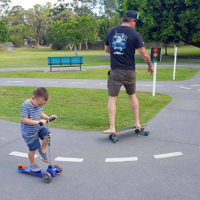 Best Places to take your scooters and balance bikes in the Gold Coast
