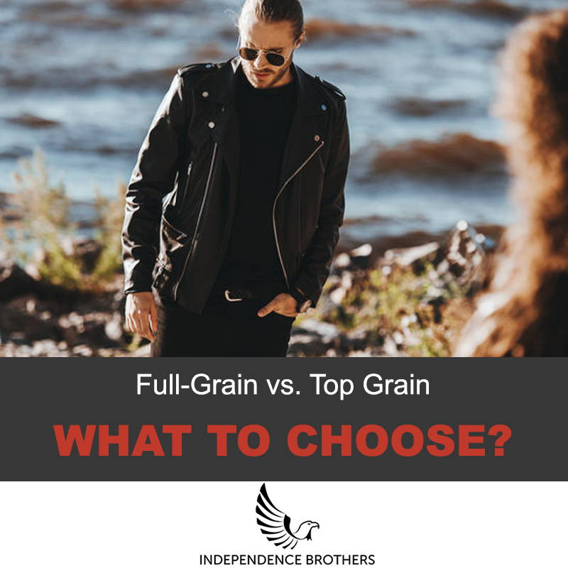 Full-grain vs top grain