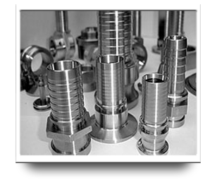 CNC Machining - Hose Stems