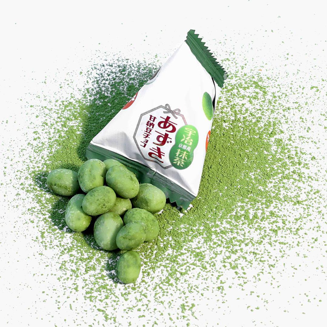 Chocolate Azuki Beans: Uji Matcha