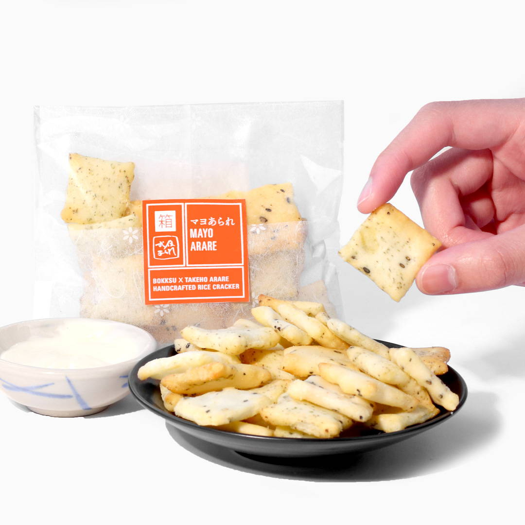 Mayo Arare Rice Crackers