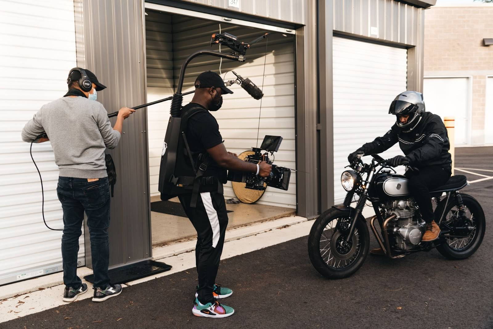 ShaBiron S. Shockley using SmallHD's Indie 7 on set