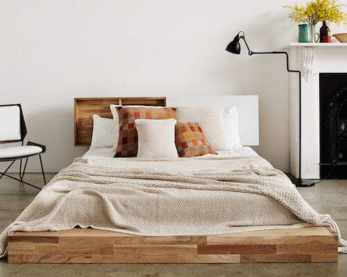Mash Studios Lax Series Platform Bed