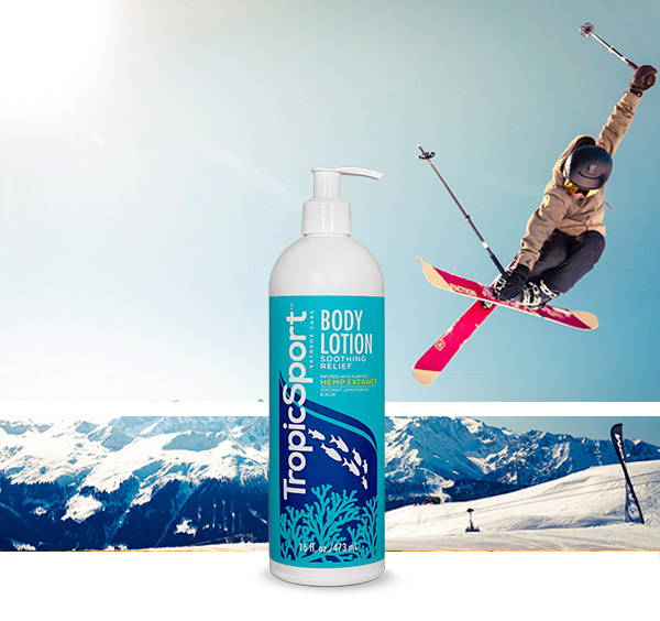 TropicSport Body Lotion and Skiier