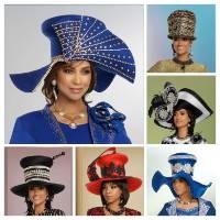 Elegance Fashions | Designer Women Church Hats Clearance Sale