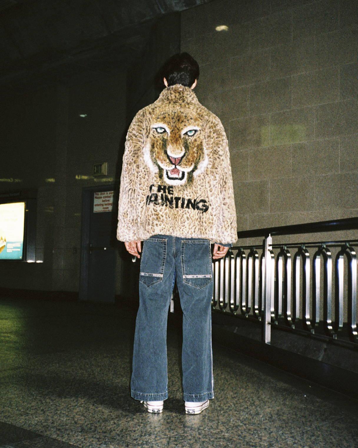 Doublet FW18 Leopard Faux Fur Coat Leopard Print - Hlorenzo