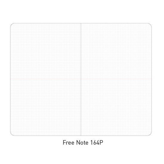 Free(grid) note - Ardium 2020 Premium natural dated monthly diary planner