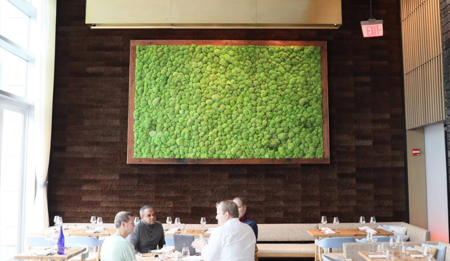 Flowerbox Wall Gardens: Moss Wall Art, Preserved Plants For Indoors