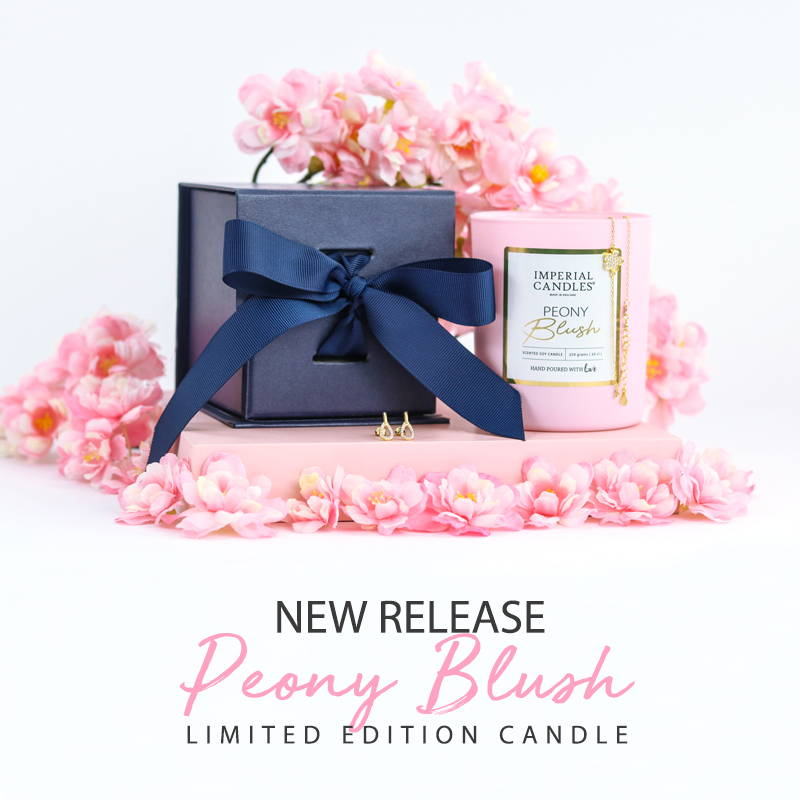 Peony Blush- Imperial Candles