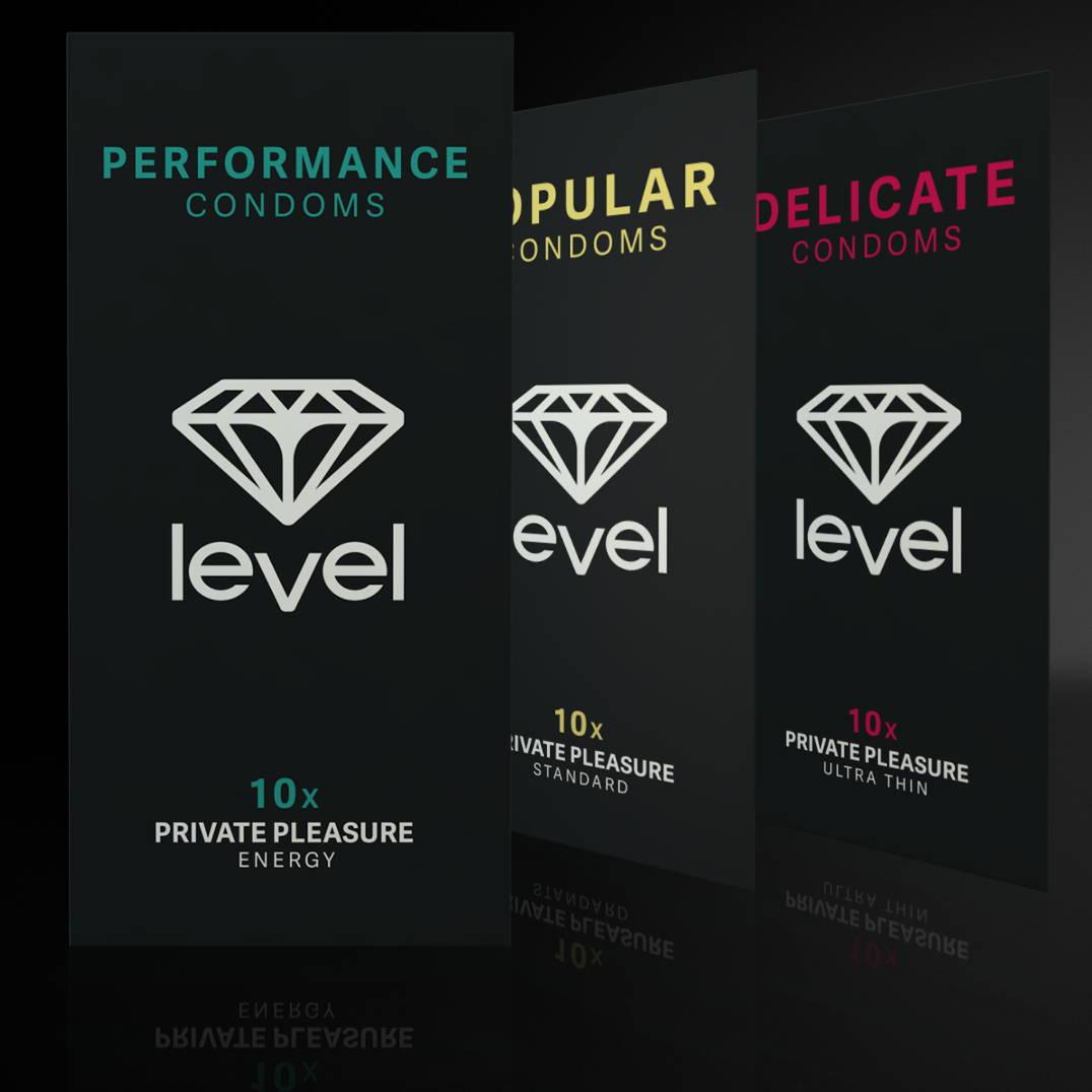 Shop Our Range of Level Condoms | The Condom People