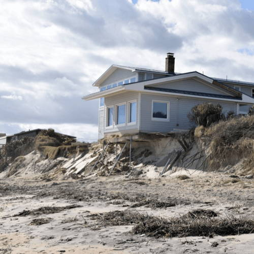Rising Water Levels - Beach Erosion