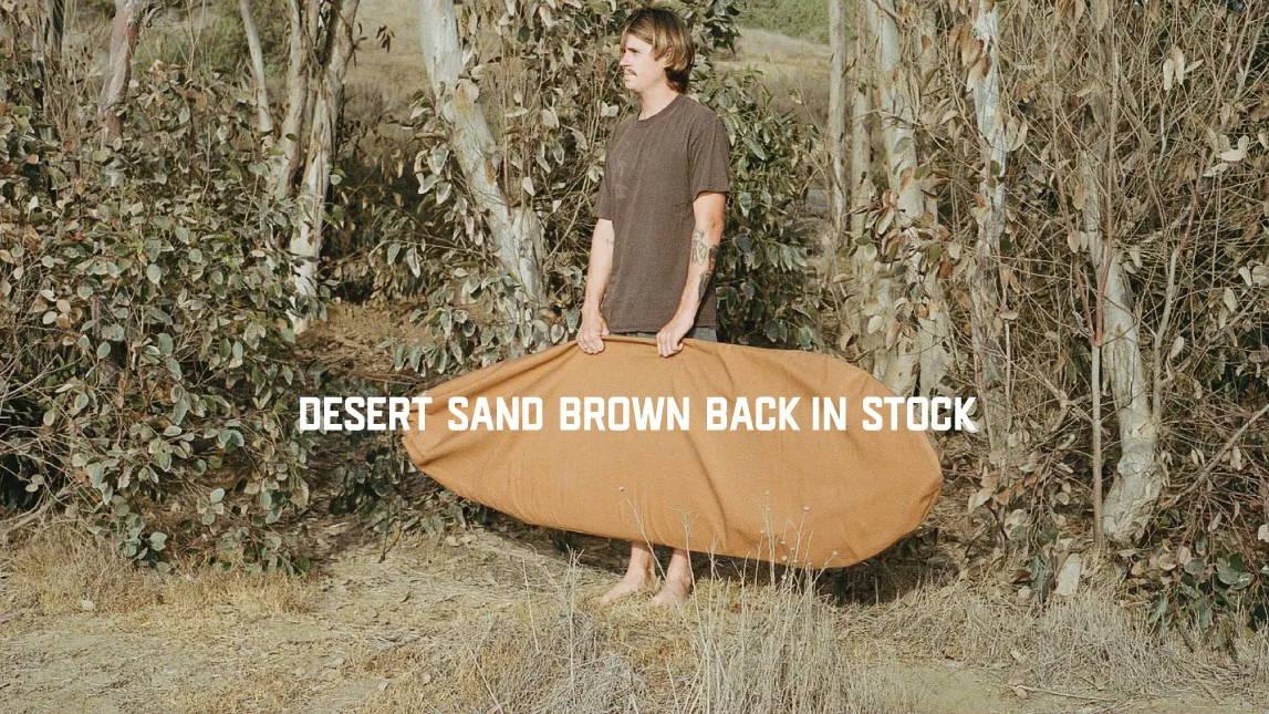 Brown Surfboard bag