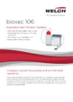 Biovac 106 Datasheet