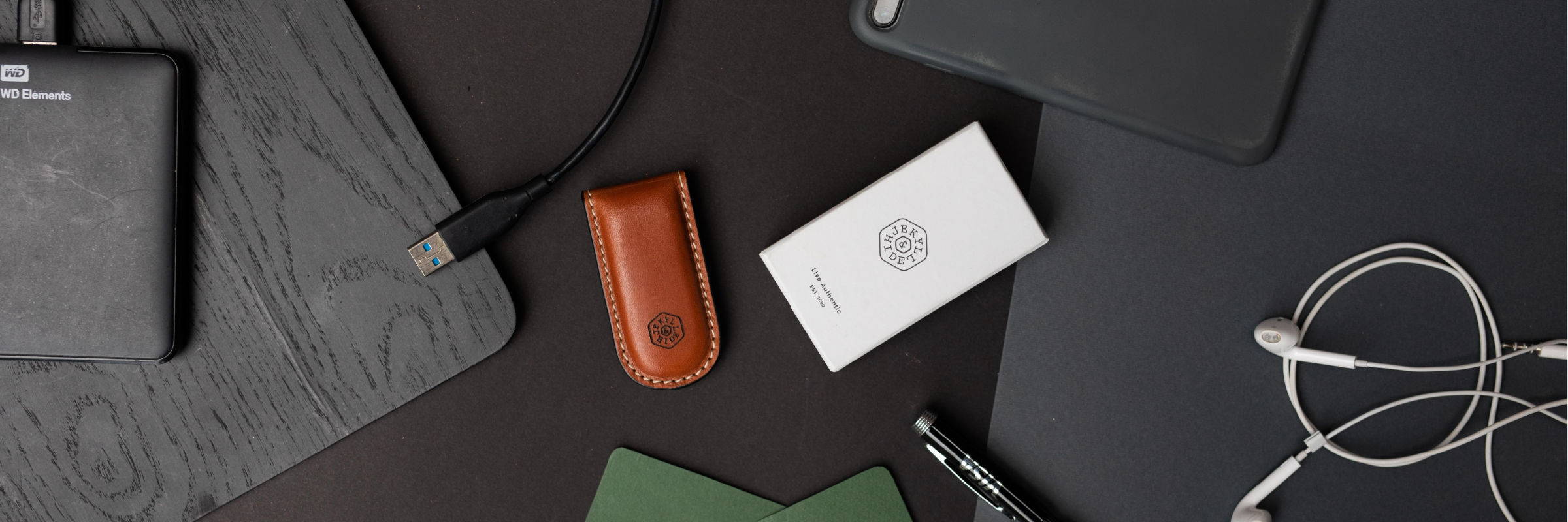 LEATHER MONEY CLIP WALLETS