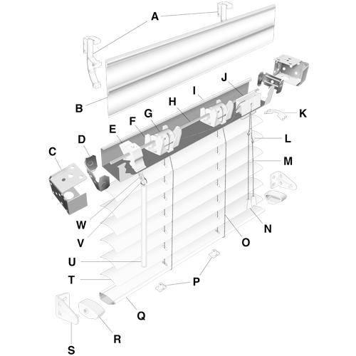 Mini Blind Diagram Fix My Blinds Inc