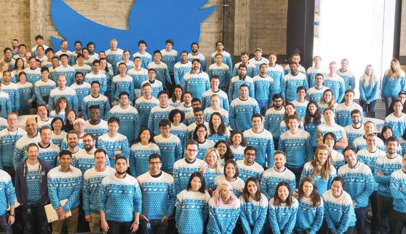 Twitter Christmas Sweater